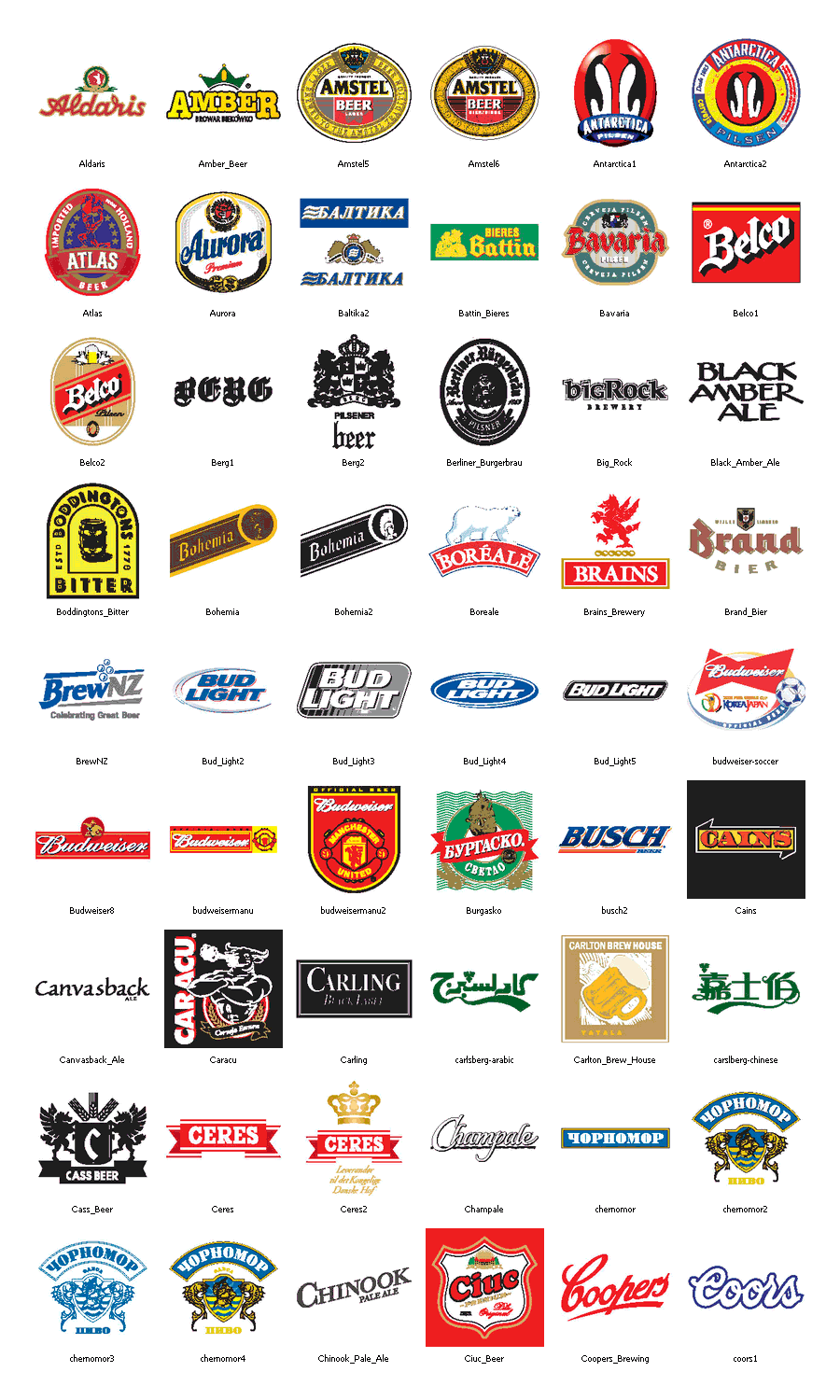image gallery liquor logos and names