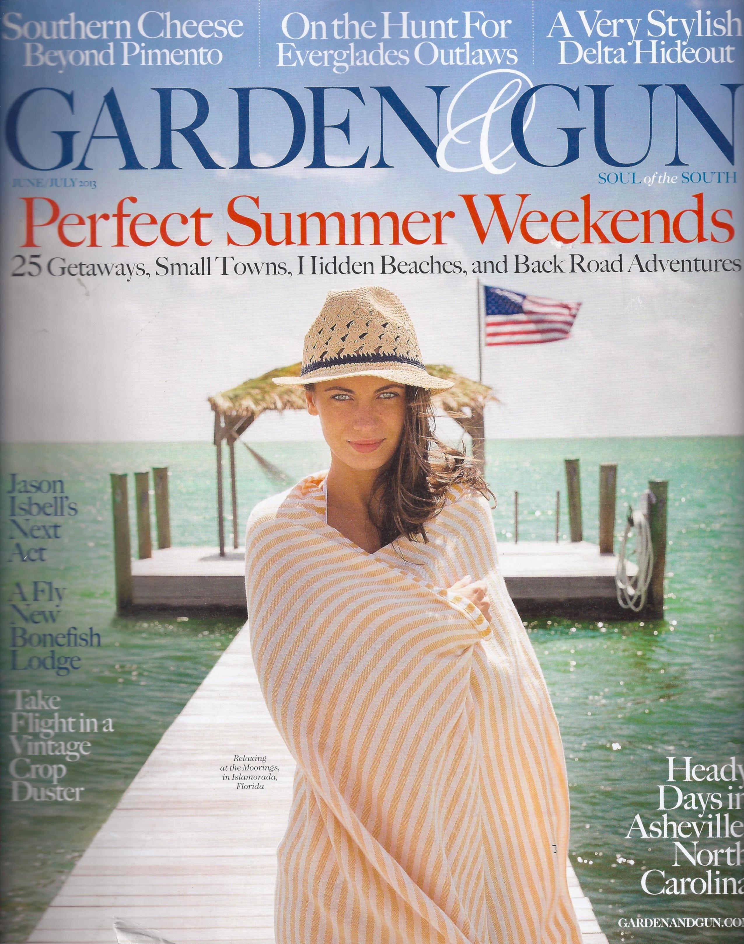 Garden U0026 Gun June July 2013