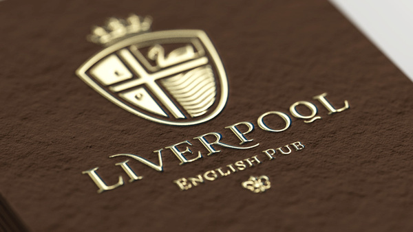11 liverpool foil business cards a related reheart Image collections